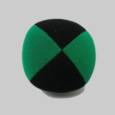 Beanbag Velour  67mm schwarz-grün