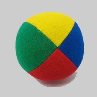 Beanbag Velour  67mm rot-gelb-blau-grün