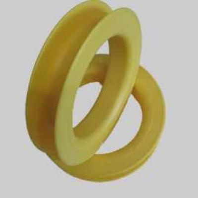 Gross Spule 200x44mm gelb