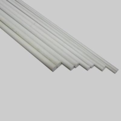 GFK Rundstab  6,0 x 2000mm, weiß