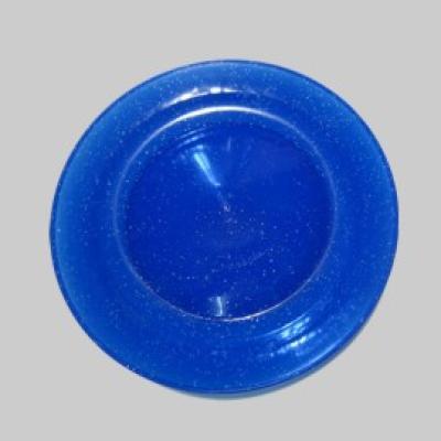 Jonglierteller Glitter blau