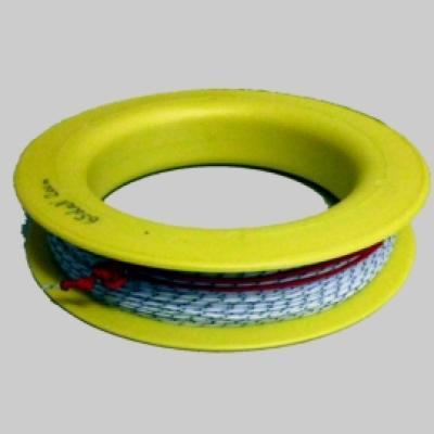 Ringspule mit Dacron 65daN 200m