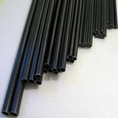 GFK Rohr  4,0x2,5 x 1000mm schwarz