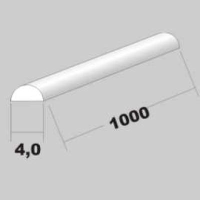 P-Halbrund 4,0 x 1000mm