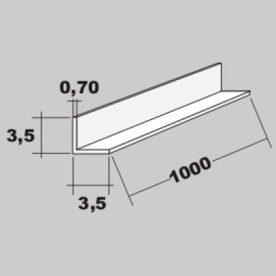P-L Profil 3,5x3,5 x 1000mm