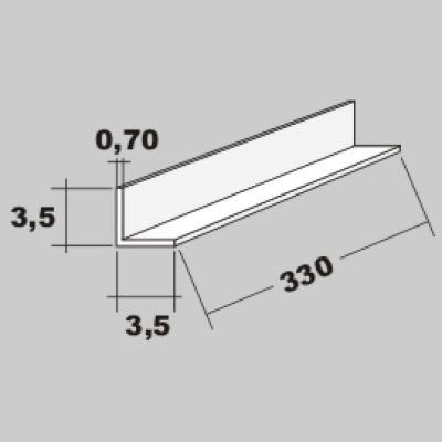 P-L Profil 3,5x3,5 x 330mm