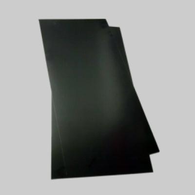Polystyrol 1,0 x 245x495mm schwarz